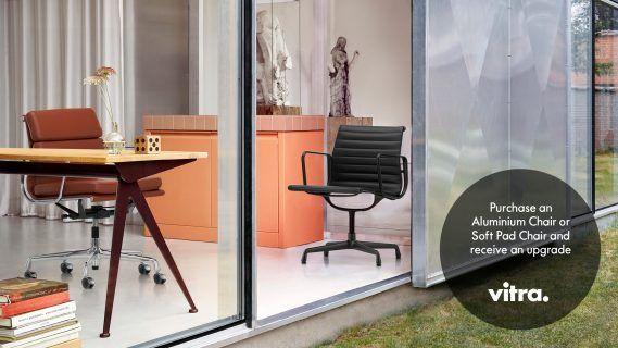Aluminium chair Vitra